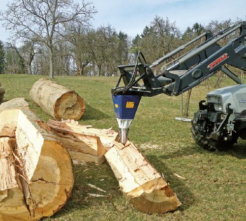 Fabelhaft Bagger- und Kegelspalter - SCHEIFELE GmbH - Forsttechnik @HH_95